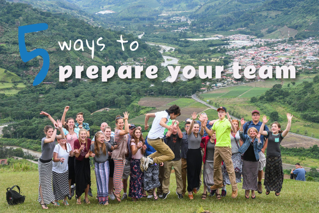 5ways to prepare your team graphic