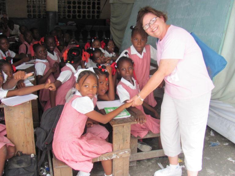 Missionary in Haiti