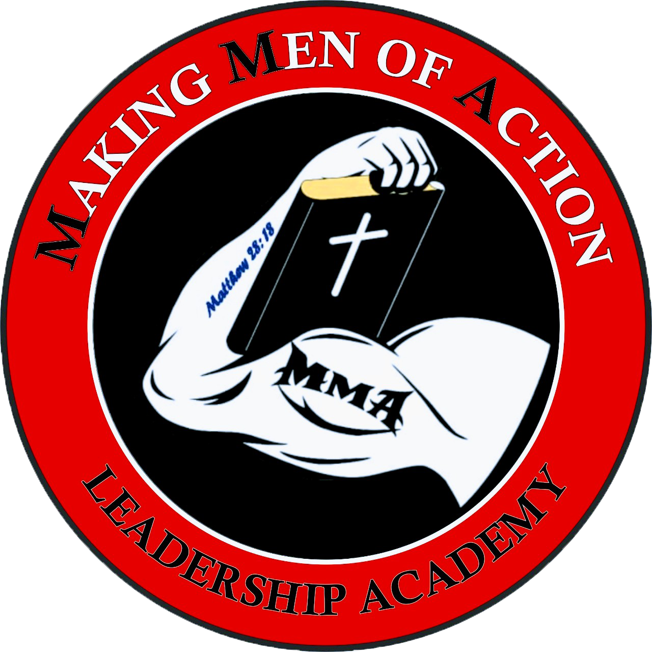 Chart Logo With A Arrow: Making Men Of Action